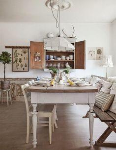 Wunderschöne Küchengestaltung im Landhausstil auch für Ihr Haus geeignet  - http://freshideen.com/kuchen/kuchengestaltung.html