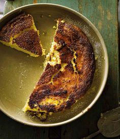 Australian Gourmet Traveller Spanish dessert recipe for tarta de queso (Cheesecake) by Frank Camorra from Melbourne restaurant MoVida.