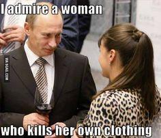Putin it right
