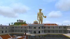 Ricostruzione in 3D della Domus Aurea per il sito www.italyrome.info.
