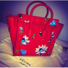 Sue Tsai Celine Bag. LOTUS FLOWER BOMBS. I would love to have this!