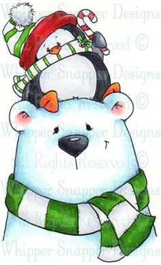christmas.illustr.quenalbertini: George & Penny