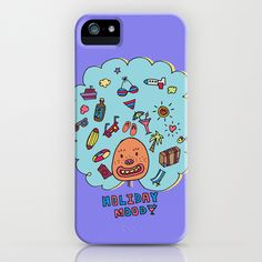 Holiday Mood!  iPhone & iPod Case by PINT GRAPHICS - $35.00