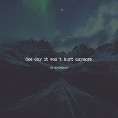 I can't wait for that day but it won't be soon