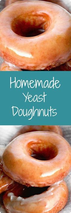 Doughnuts   A delicious homemade treat, these yeast-raised doughnuts are worth the time and effort! (I think this is the recipe that I used in Okinawa)