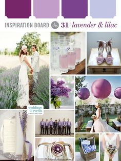 Inspiration Board #31: Lavender & Lilac | Elegance & Enchantment