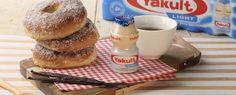 Ciambelle alla vaniglia, cotte al forno per una colazione sana