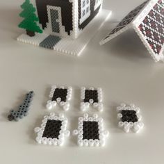 DIY i advent – Perlehus Playground, Advent, My House, Stud Earrings, Hama Beads Patterns, Lily, Templates, Ear Studs, Earring Studs