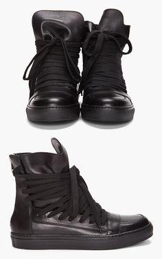 Kris Van Assche Lace Up Sneakers