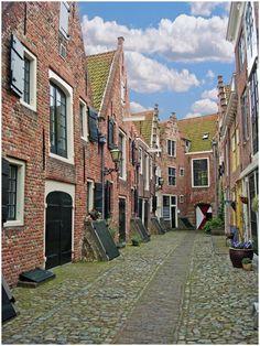 Doorkijkje in de Kuiperspoort, Middelburg