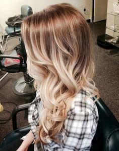 brown to blonde balayage - Google Search