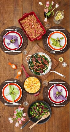 From Valentine's Day to everyday entertaining, find your tablescape and menu inspiration with Anolon® Gourmet Cookware.