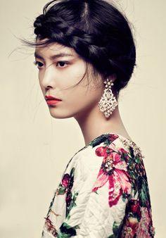 Takashi Imai for Vogue Japan - Photograph by Tony Kim. www.foreveryminute.com Luxury Silk Lounge and Sleepwear