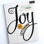 I got this new book The Joy of Lettering a few weeks ago and am enjoying it so much I wrote a review with peeks inside the book on my blog Click the link in my profile to read it  joyoflettering