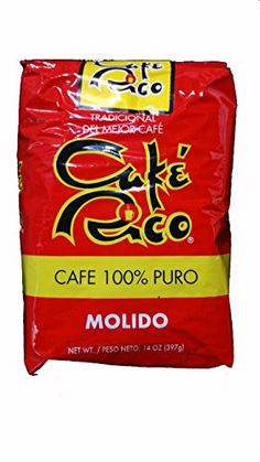 Cafe Rico Puerto Rican Ground Coffee 8 Bags of 14oz each 8 Pack ** Click image for more details. (This is an affiliate link and I receive a commission for the sales)