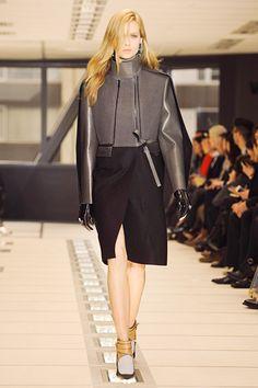 And I totally looooved this one.  #Balenciaga #Paris #FashionWeek