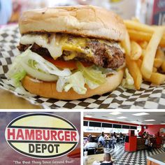 Hamburger Depot in Beaumont, Texas - from A Hamburger Today