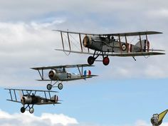 Modern flying reproductions of WWI aircraft, Masterton New Zealand 3 Allied2.jpg
