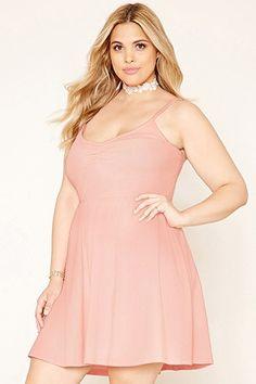 Plus Size Cami Skater Dress