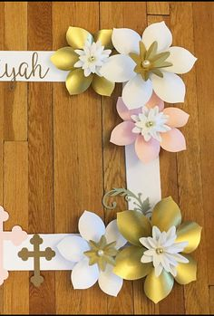 """First Communion/Baptism/Christening Selfie Frame! This beautiful customized selfie frame is a great addition for your next special event! Perfect for any special occasion including weddings, baby showers and birthdays! The frame measures 36"""" x 28"""" and is made out of durable"""