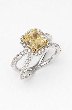 Bony Levy Fancy Yellow Diamond Ring (Nordstrom Exclusive) | Nordstrom