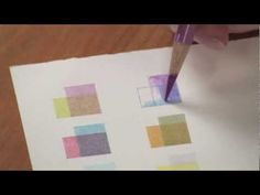 Colored Pencil Techniques: Glass with Janie Gildow - YouTube