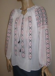 Black-pink silk embroidery Peasant Blouse, Pink Silk, Embroidered Blouse, Romania, Beautiful Hands, Hand Embroidery, Bohemian, Costume, Pure Products