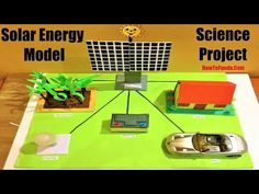 solar energy model science project for science exhibition Science Exhibition Projects, Science Project Models, Science Models, Science Projects, School Projects, Solar Energy Projects, Model School, Preschool Science, Writing Paper