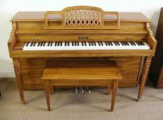 Great piano just like my music teacher's http://pinterest.com/cameronpiano