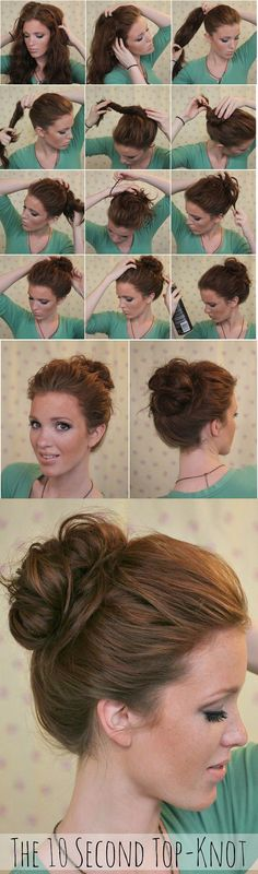 10 Second Top Knot