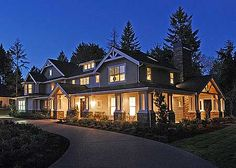 Large Homes On Pinterest Vintage House Plans Modern