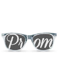 DB Exclusive Silver Metallic Prom Sunglasses Style PROMGLASSES