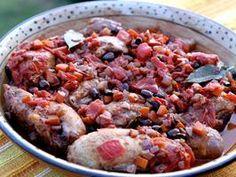 Recipe:  Chicken Cacciatore... so good!