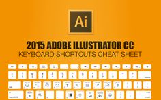 Super charge your graphic design skills with this illustrator keyboard shortcuts cheat sheet.