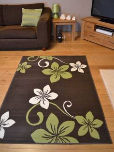Lime Green and Brown Rugs | ... Brown Lime Green Small Extra Large Big Size Floor Carpet Rugs Rug Mat