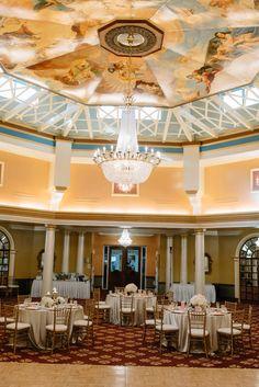 Gold Ivory And Blush Ballroom Wedding Reception Decor At Tampa Bay Venue Safety Harbor Resort