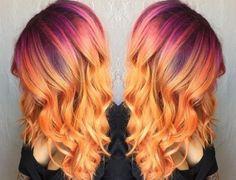 Cores do pôr do sol inspiram coloração de cabelo no Instagram - 24/11/2015 - UOL…