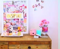 Alisha Marie's inspiration board / diy tumblr room decor/ YouTube /alisha marie
