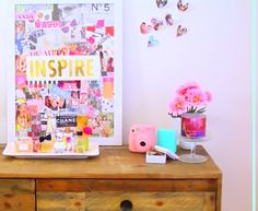 Alisha Marie's inspiration board / diy tumblr room decor/ YouTube /alisha marie