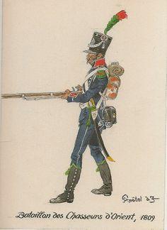 Bataillon des Chasseurs d'Orient 1809