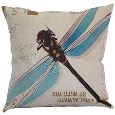 "#Pillow #Cases ,#IEason #Clearance Sale! #Dragonfly #Sofa #Bed #Home #Decor #Pillow #Case #Cushion #Cover ❤Material:linen blend pillows #cases pillows #cases decorative pillows #case 18x18 pillows #cases standard pillows #cases with zipper pillows covers throw covers christmas pillows covers decorative pillows covers pillows covers 18x18 pillows covers decorative throw pillows ❤Shape:Square ❤Size: 43cm*43cm/16.9*16.9"" https://homeandgarden.boutiquecloset.com/product/pil"