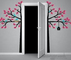 wall decals tree, wall decals, bs bedroom, girl bedrooms