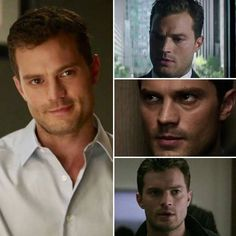 The different looks of Christian Grey