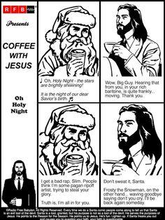 Coffee With Jesus, Peanuts Comics