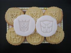 TRANSFORMERS inspired COOKIE STAMP recipe and by totalum on Etsy, $11.95