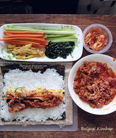 ... - Recipes - Food Reviews - Travel: Kimbap - 김밥 ~ Bulgogi Kimbap