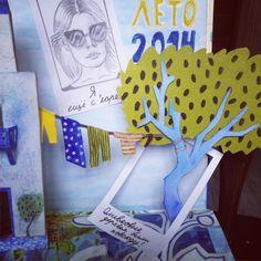 «Детали разворота травел бука #travelbook, #greece, #instax, #illustration, #illustrator, #santorini, #crete, #olive, #art, #donkey, #paper, #travel,…»