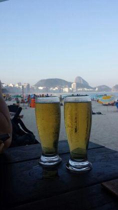 Um Brinde a Copacana Rio de janeiro! !!