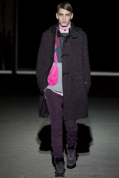 Dries Van Noten Fall 2014 Menswear Collection Slideshow on Style.com