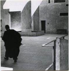 Lucien Hervé - Ronchamp 1954- High Court